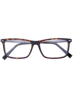 очки для зрения прямоугольной формы Ermenegildo Zegna