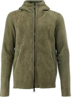 куртка на молнии с капюшоном  Giorgio Brato