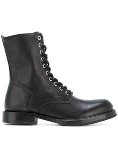 ботинки в стиле милитари Diesel