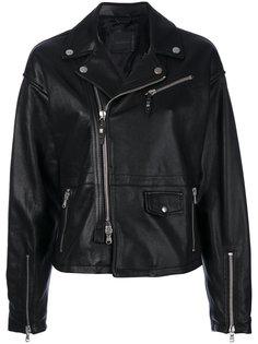 байкерская куртка Lavalle Diesel Black Gold