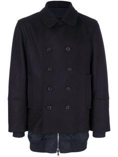 двубортное пальто Jiber Diesel Black Gold