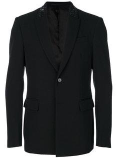 пиджак с блестящей отделкой на воротнике Givenchy