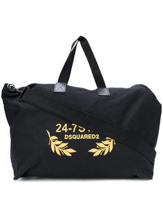 сумка с вышивкой 24-7 Dsquared2