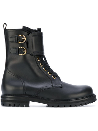 байкерские ботинки Salvatore Ferragamo