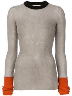 """свитер дизайна """"колор-блок"""" Marni"""