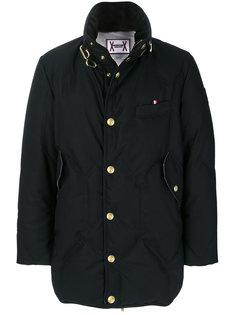пуховое пальто Moncler Gamme Bleu