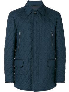 стеганая куртка с карманами с клапанами Brioni