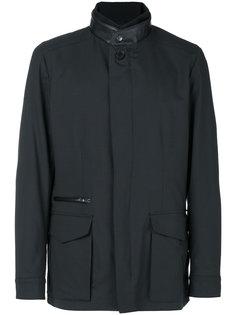 легкая куртка с карманами с клапанами Brioni