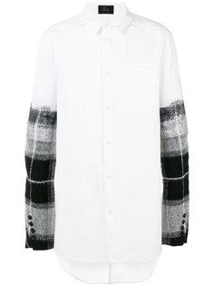 рубашка с клетчатыми рукавами Lost & Found Ria Dunn