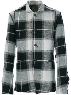 клетчатая куртка-рубашка Lost & Found Ria Dunn
