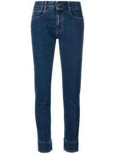 джинсы с манжетами с цветочным принтом Stella McCartney