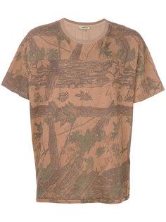 футболка с принтом деревьев Season 4 Yeezy