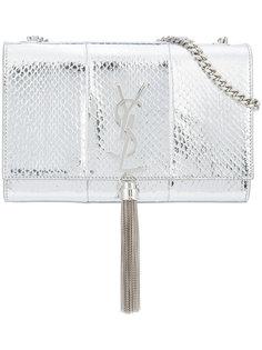 сумка на плечо с эффектом змеиной кожи Saint Laurent