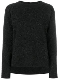 вязаный свитер с блестками Fendi