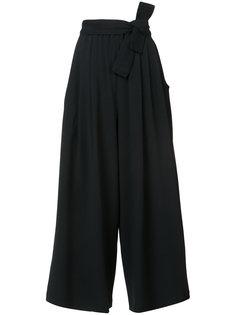укороченные расклешенные брюки Tome