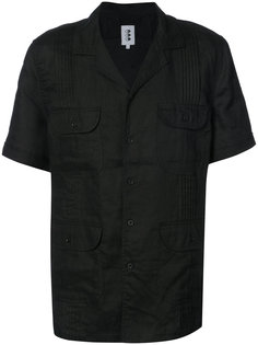 рубашка с короткими рукавами и карманами 321