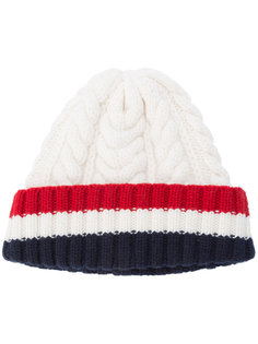 вязаная шапка-бини Thom Browne