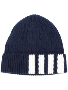 шапка-бини в рубчик Thom Browne