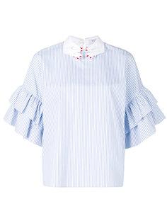 рубашка с оборками  Vivetta