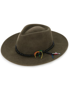 шляпа с декором из бусин Sensi Studio