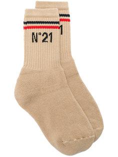 носки с логотипом  Nº21