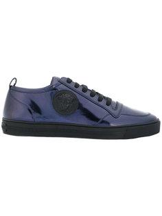 кроссовки на шнуровке Specchio Versace