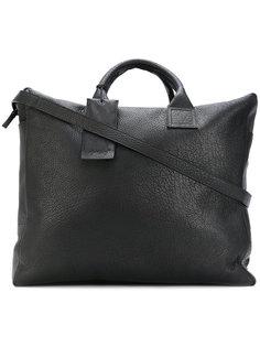 структурированная сумка с ярлыком  Marsèll
