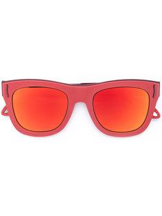 зеркальные солнцезащитные очки Givenchy Eyewear