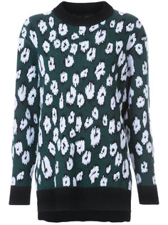 Graphic Jacquard Sweater Proenza Schouler