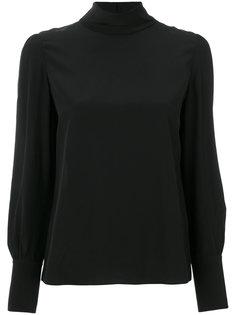 блузка с рукавами-баллон Chloé
