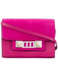 Leather Nubuck PS11 Wallet With Strap Proenza Schouler