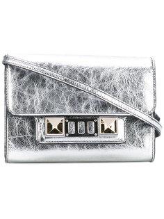 Metallic PS11 Wallet With Strap Proenza Schouler