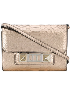 Embossed Python PS11 Wallet with Strap Proenza Schouler