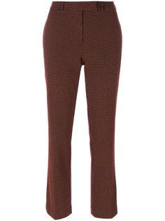 зауженные укороченные брюки Etro