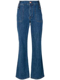 укороченные джинсы клеш See By Chloé