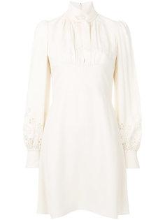 платье с высоким горлом Chloé