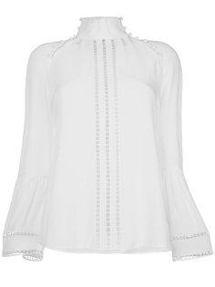 блузка с вырезами  Fendi