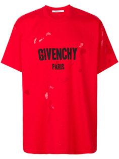 футболка с принтом-логотипом Columbian-fit Givenchy