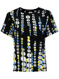 printed silk blouse Reinaldo Lourenço