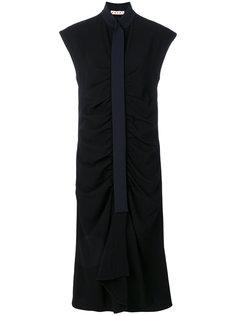 расклешенное платье миди  Marni