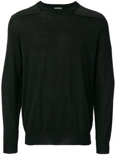 свитер с заплатками на плечах Lanvin