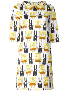 платье с принтом Spongebob  Peter Jensen