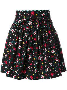 юбка с узором в виде нарисованных цветов Marc Jacobs