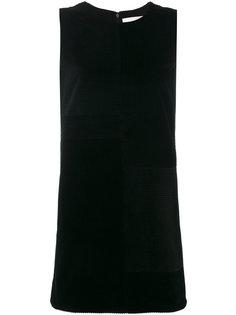платье-шифт с ребристой фактурой Victoria Victoria Beckham