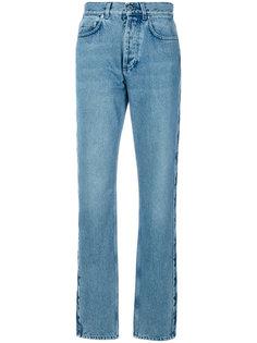длинные джинсы со звездами Givenchy