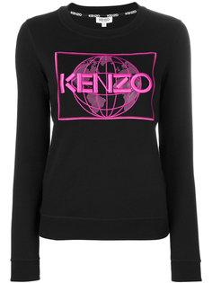 топ с логотипом Kenzo