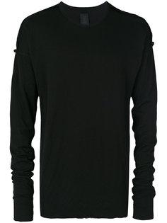 футболка с приспущенными рукавами Thom Krom