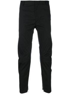 брюки с манжетами с молниями Lanvin
