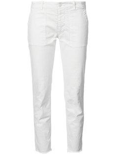 джинсы скинни с необработанными краями Nili Lotan