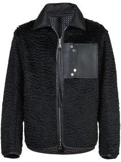 куртка-бомбер с накладным карманом Oamc